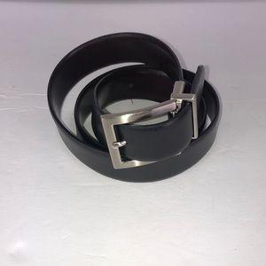 Calvin Klein CK Black Brown Reversible Belt